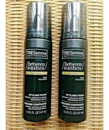 (2) TRESEMME BETWEEN WASHES STYLE FOAM CURL REVIVE 5 OUNCE BRAND NEW - $16.82