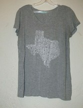 maurices womens large gray State of Texas Themed shirt am - $9.99