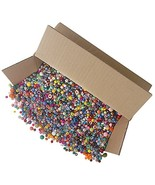 The Beadery The Bonanza 5LB of Mixed Craft Beads, Sizes, Multicolor - $13.57