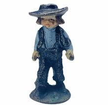 Cast Iron figure vtg toy Amish Mennonite church Jakob Ammann gift ww2 wwii boy 1 - $19.19