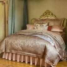 Sferra BELLANCA full queen duvet cover Nougat NIP - $349.15