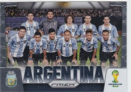 Lionel Messi Angel Di Maria Other Argentina National Team 2014 Panini Prizm Fifa - $187.99