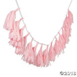 Primary image for Light Pink Tassel Garland