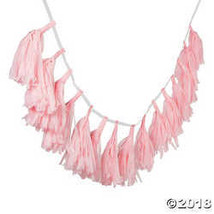 Light Pink Tassel Garland - $8.86