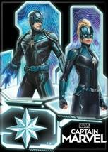 Captain Marvel Movie Carol and Yon-Rogg Kree Warriors Refrigerator Magnet UNUSED - $3.99