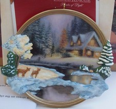 Hallmark Keepsake Christmas Ornament 2002 Deer Creek Cottage - Thomas Ki... - $9.49