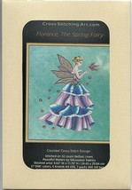 """FLORENCE - THE SPRING FAIRY"" COMPLETE XSTITCH MATERIALS - $64.34"