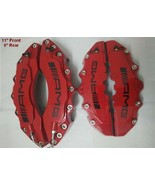 "Red Engineering Plastic AMG Brake Caliper Covers 11"" Front 9"" Rear For M... - $115.90"