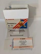 1984 Canon Snappy 35mm USA Olympic Games Los Angeles Camera Empty Box - $18.69