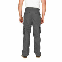 Men's Tactical Combat Military Army Work Slim Fit Twill Cargo Pants Trousers image 7