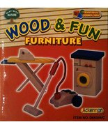 Ackerman Toy Play With Nature Wood & Fun Furniture - $9.80