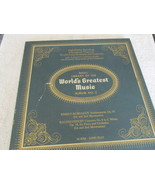 The Basic Library Of The World's Greatest Music  No. 2 Record Album  - $5.00