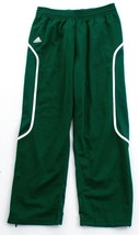Adidas ClimaLite Green & White Pro Team Track Pants Men's NWT - $41.24