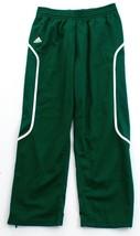 Adidas ClimaLite Green & White Pro Team Track Pants Men's NWT - $41.24