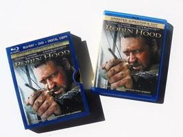 Robin Hood: Unrated Director's Cut (2010) ~ Blu-Ray + DVD ~ Used - $2.68
