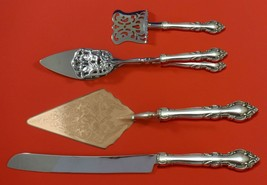 Malvern by Lunt Sterling Silver Dessert Serving Set 4pc Custom Made - $299.00