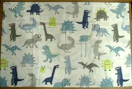 "Pottery Barn Kids 100% Organic Cotton Dinosaur Themed Pillow Case, 20""x30"" - $14.95"
