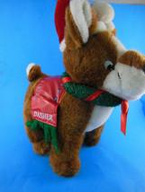 "Dasher Christmas Reindeer 10 X 11"" Plush SUGAR LOAF 2006 Excellent condi... - $14.84"