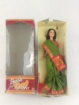 2002 Mattel Barbie Doll Of India Toy Display Girls Dressed - $20.56