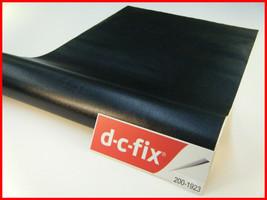 DC Fix Self Adhesive Black Leather Effect Vinyl 17.7'' x 39.3'' 200-1923 - $10.25