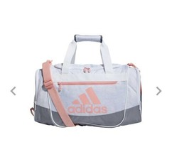 JERSEY WHT/GRY/GLORY PINK adidas Defender III Small Duffle Bag (D) - $148.49