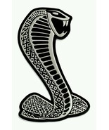 Cobra Snake Alumi Emblem Badge Decal Logo Rare for Ford Mustang Shelby G... - $15.95
