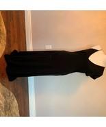 EUC VERSUS by GIANNI VERSACE Black Crepe Sleeveless Cocktail Dress SZ - $292.05