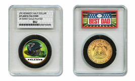 Best Dad DETROIT LIONS 2-Coin Set U.S Quarter /& JFK Half Dollar NFL LICENSED