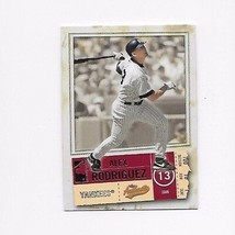 2005 FLEER AUTHENTIC  YANKEES ALEX RODRIGUEZ #48 - $0.99