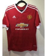 MANCHESTER UNITED JUAN MATA & 4 Players HAND SIGNED Autographed Shirt Je... - $150.00