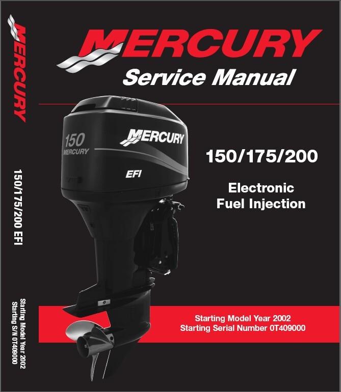 mercury outboard motor repair manuals