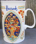 Harrods Food Hall Tiles Fine Bone China Cup England - $24.99