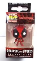 Funko Pocket Pop Keychain Deadpool with Swords Vinyl Bobble Head Figure ... - $6.76