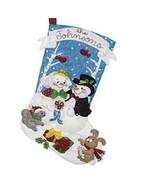 Bucilla - 'Bride and Groom' -  Christmas Felt Stocking Applique Kit -86943E - $30.99