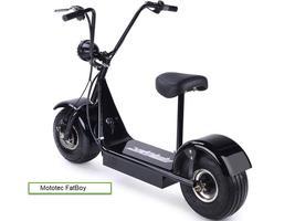 Electric Scooter MotoTec FatBoy 48 Volts 500 Watt Fat Tire Transporter image 5