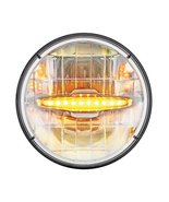 """United Pacific 31514 Amber 7"""" High Power LED Dual Function Headlight - $164.99"""