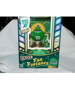 M Ms Madame Green Fun Fortunes Candy Dispenser Yellow Hair 8 3/4 Inches ... - $19.99