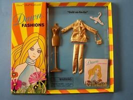 """2001 DAWN Groovy Fashion """"Gold au-Go-Go"""" fits most 6 1/2""""Doll Checkerboa... - $38.61"""