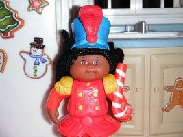 Cabbage Patch Kids Miniature Doll CPK 1994 Christmas Parade Marcher Candycane - $2.96