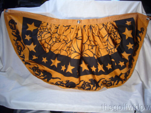 Bethany Lowe Halloween Bunting Great  for Windows no. LK3733