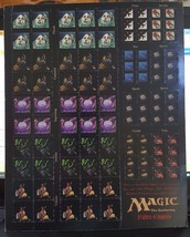 Magic the Gathering - Fallen Empires - Token - Counter Sheet - Unpunched... - $24.45