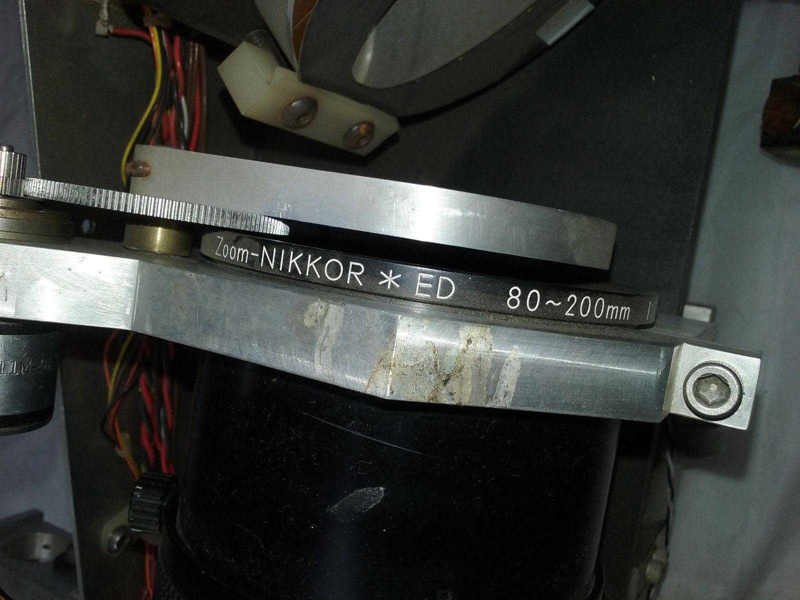 Newport Optical Mount 600A-4 Nikkor 80-200mm Lab Equipment Laser Photonics Lens image 3