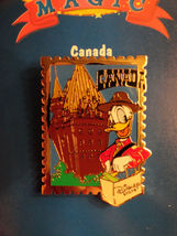 Donald Duck Disney Canada Stamp Pin 12 Months of Magic Series Retired NIP - $10.00