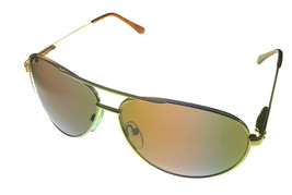 Kenneth Cole Reaction Mens Sunglass Brown Metal Aviator,  Brown Lens KC1... - $17.99