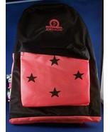 Back Pack Pac Jordache New Tags Vintage Orange Black Summer School Stars... - $12.82