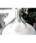 "High Quality Clear Wine Carafe 32 Ounce 9 1/2"" Tall - £27.39 GBP"