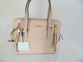 Calvin Klein Josie Leather Small Satchel HP555  $228 - $81.59