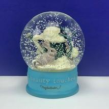 Hallmark Snowglobe Marjolein Bastin easter bunny rabbit natures beauty f... - $69.25