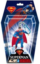 DC Comics Superman Figural PVC Key Ring Keychain NEW UNUSED SEALED #45068 - $7.52