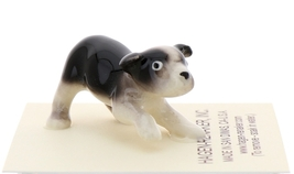 Hagen-Renaker Miniature Ceramic Dog Figurine Boston Terrier Pup image 4